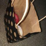 100均セリアの「ペーパーバッグ(紙袋)」で可愛くおすそ分け♪