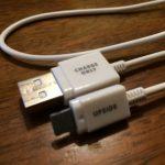 100円ショップダイソーで買った激安iPhone充電ケーブル